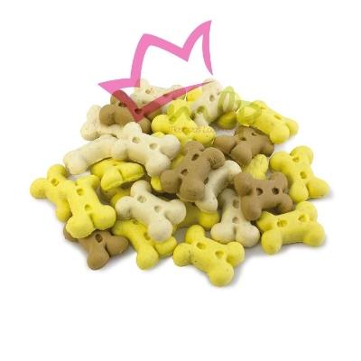Galletas sabor vainilla para cachorros y perros pequeños.