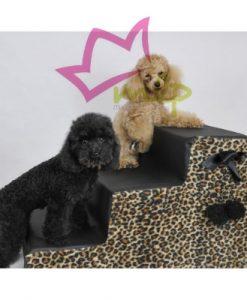 Escaleras para perros pequeños y gatos, es una gran ayuda para perros que no pueden o no deban de saltar al sofá o cama.