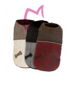 Abrigo para perros pequeños, ligero y abrigado, cómodo para los pequeños, con el se pueden mover con toda facilidad, disponible en 4 tamaños.
