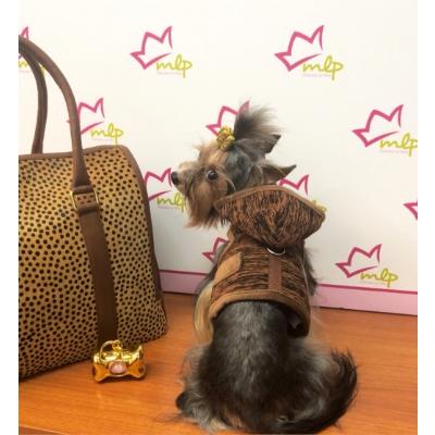 Arnes abrigado para el invierno, especial para perros pequeños, disponible en 3 tallas.