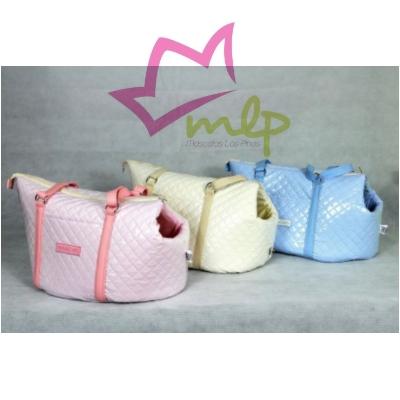 Bolso para perros pequeños, fabricado en España de manera manual. Disponible en varios colores y tamaños.