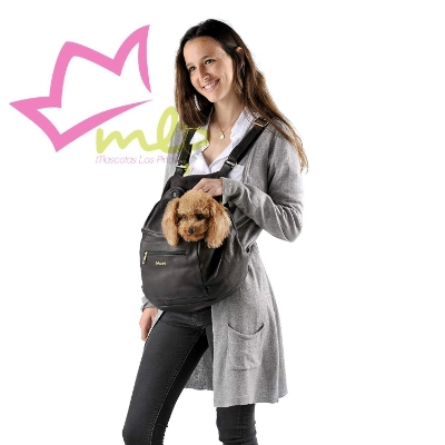 Mochila Biozoo para perros pequeños, gatos y mascotas pequeñas en general. Interior suave y cómodo para nuestro pequeños peludos.