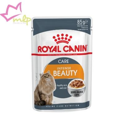 Comida húmeda para gatos que nutre el pelo y lo fortalece gracias a un contenido elevado de ácidos grasos omega-3 y omega-6, ayuda a mantener el peso ideal y a prevenir los cálculos urinarios.