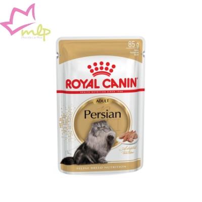 Comida húmeda para gatos persas a partir de 12 meses. Con proteínas, aceites insaturados y minerales. Promueve unas vías urinarias y una digestión saludables; previene la formación de bolas de pelo.
